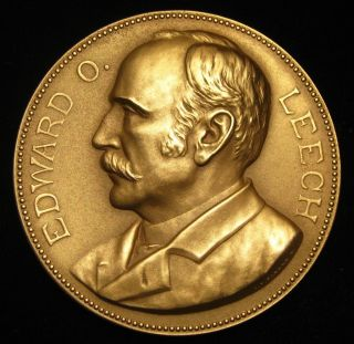 U.  S.  Medal No.  308 Director Edward Owen Leech 3