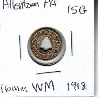 Allentown,  Pa 15g Lehigh Valley Transit Co.  1957 photo