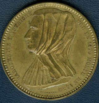 1846 Marguento Of Austria By Adolphe Christian Jouvenel photo