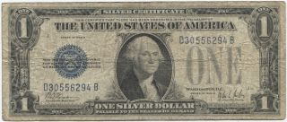 Series 1928 B $1 Silver Certificate photo
