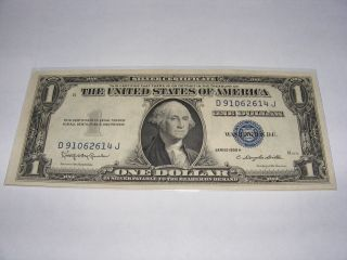 Series 1935 H $1 Silver Certificate Uncirculated (gem Quality) photo