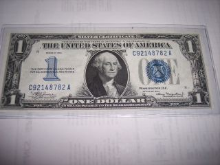 1934 Silver Certificate One Year Only Series Note photo