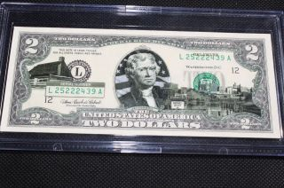 Delaware State $2 Dollar Bill photo