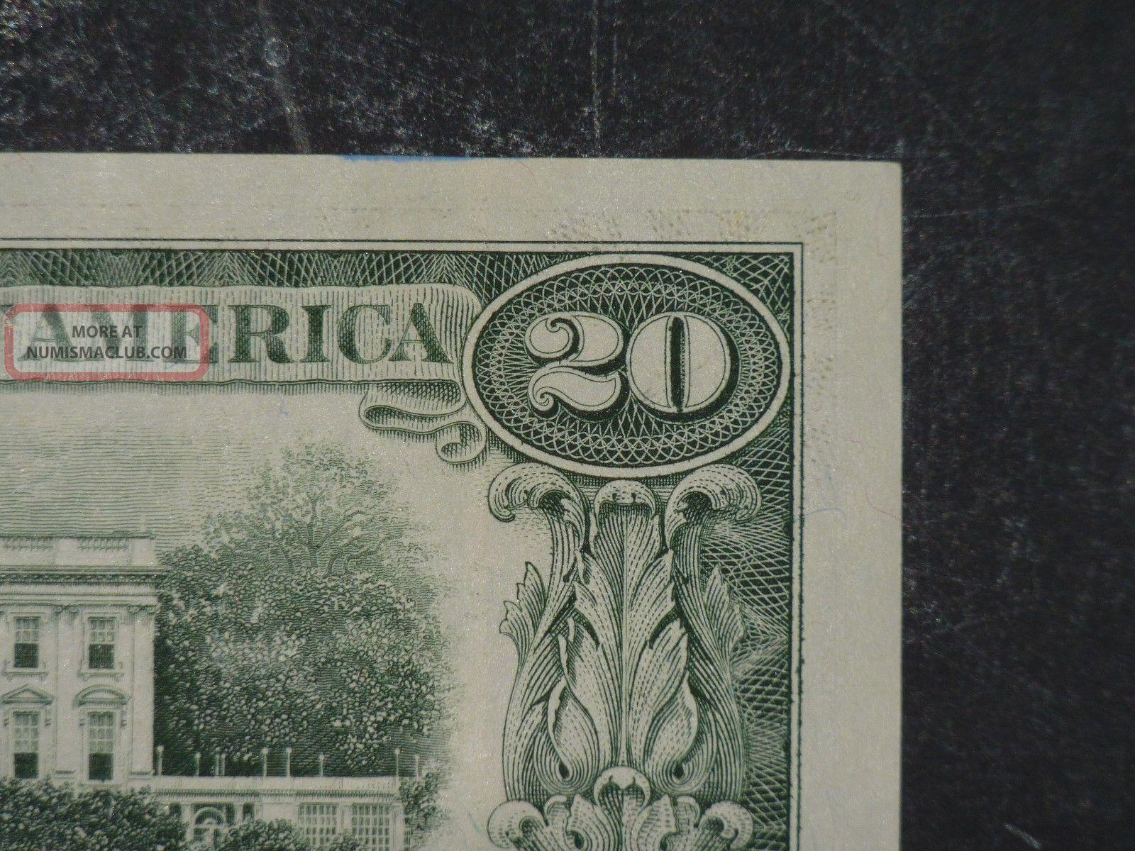 1993 $20 District B2 York Ny Old Style Twenty Dollar Bill S