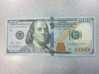 2009 A $100.  00 Star Note photo