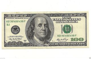 (1) - $100 2006 York Uncirculated Bill Note Dollars Hundred Gem Gift photo