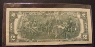 Usa.  Two Dollar Bill 1976 Series photo