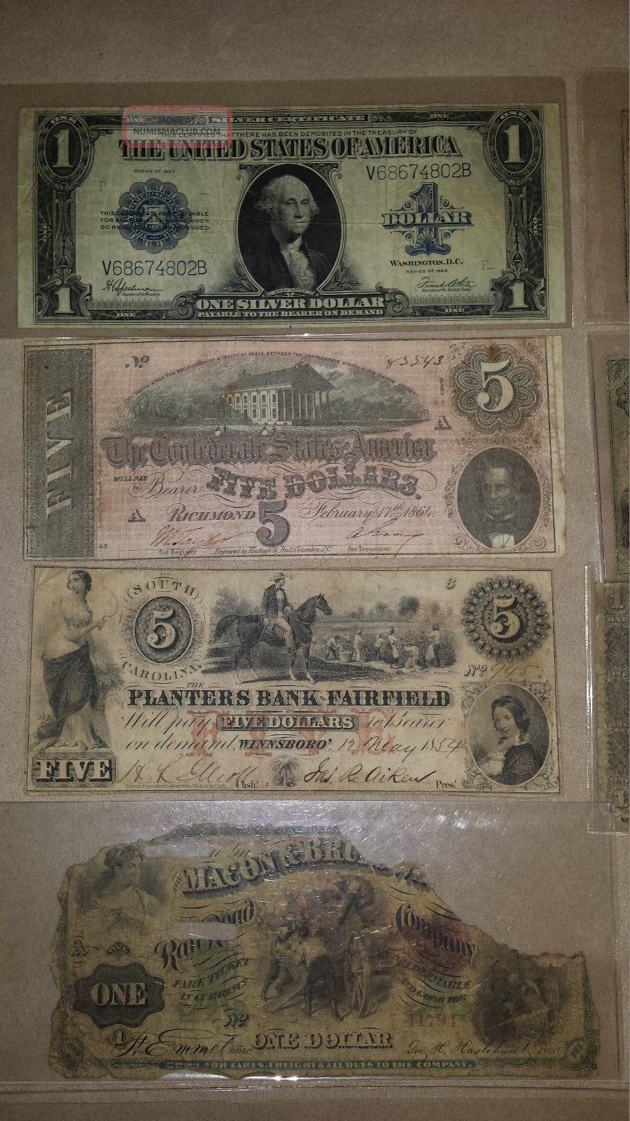 confederate paper money