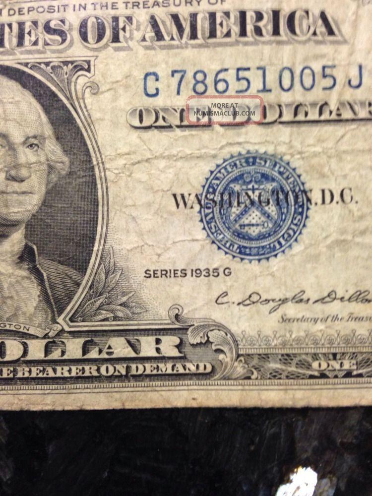 Series 1935 G One Dollar Bill Value Movies Based Off John Grisham