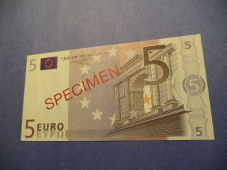Portugal 5 Euros [ Specimen ] Unc photo