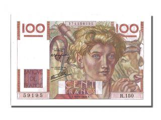 French Paper Money,  100 Francs Type Jeune Paysan,  21 Novembre 1946,  Fayette. . . photo