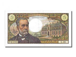 French Paper Money,  5 Francs Type Pasteur,  01 Septembre 1966,  Fayette 61.  3 photo