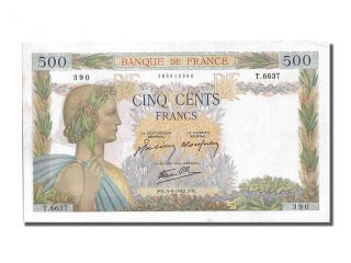 French Paper Money,  500 Francs Type La Paix,  09 Septembre 1942,  Fayette. . . photo