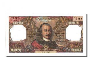 French Paper Money,  100 Francs Type Corneille,  02 Décembre 1965,  Fayette. . . photo