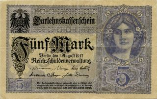 Germany 5 Mark 1917 Y17844833 photo