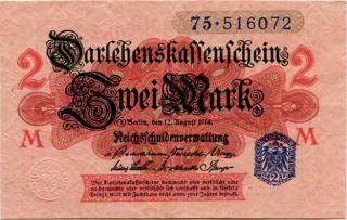 Germany 2 Mark 1914 75 - 516072 photo