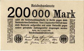 Germany 200.  000 Mark 1923 0000238 photo