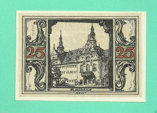 Germany Arnstadt 50 Pfg.  1921 Unc Gem Notgeld St Wqer8 photo