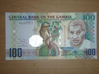 Gambia 100 Dalasis Unc photo