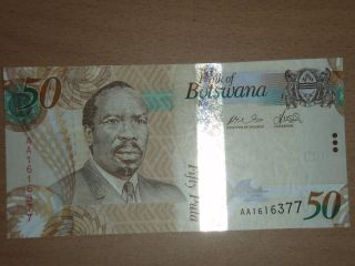 Botswana 50 Pula Unc photo