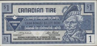 Canadian Tire,  $1,  Nd.  1970 ' S photo