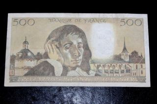 500 Francs - France - (1987) Already Uncirculated photo