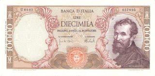 Italy 10000 Lire 1973 Pick 97d Xf+ photo