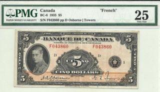 1935 5.  00 Of Canada