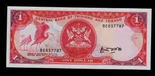 Trinidad And Tobago 1 Dollar (1985) Be Pick 36a Unc. photo