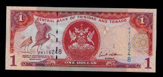 Trinidad And Tobago 1 Dollar 2006 Fk Pick 46 Unc. photo