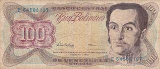 Venezuela: 100 Bolivares,  5 - 2 - 1998,  P - 66f photo