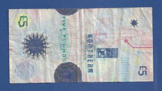 £5 Five Pounds Ireland { Northern Bank } 1999 Polymer Banknote photo