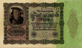 Germany 50.  000 Mark 1922 K00900114 photo