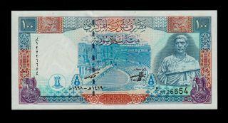 Syria 100 Pounds 1998 Pick 108 Unc. photo