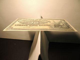 1900 Dominion Of Canada Shinplaster 0.  25 Cents Paper Boville Signature Dc - 15b photo