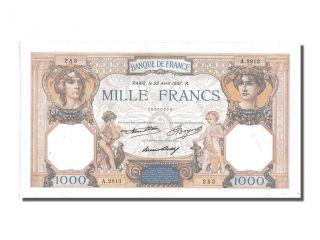French Paper Money,  1000 Francs Type Cérès Et Mercure photo