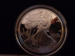 1997 - P 1 Oz Proof Silver American Eagle (w/box &) photo