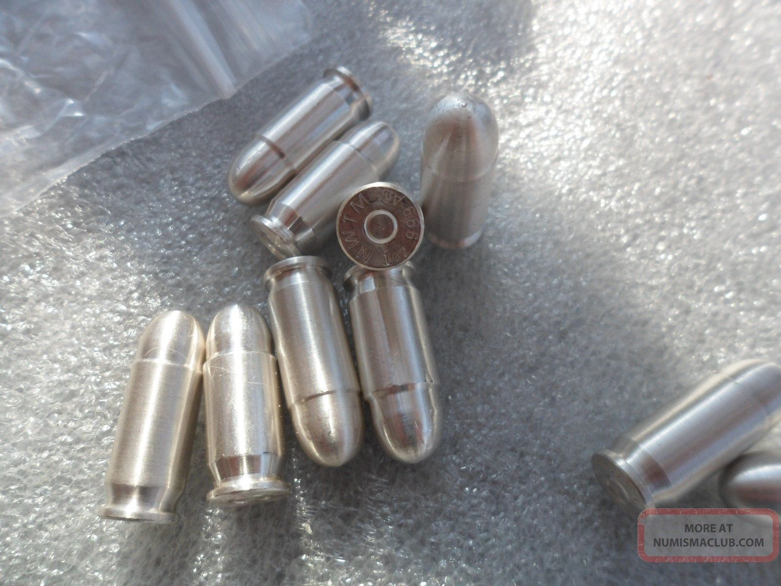 45 Cal.  Silver Bullet 1oz.  999 Ag Fine Silver The Magical ' Silver Bullet ' Silver photo