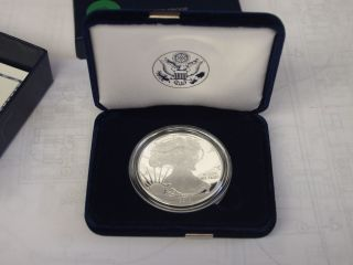 2010 American Silver Eagle Proof Coin 1 Oz.  999 Fine Silver photo