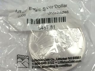 American Eagle Silver Dollar photo