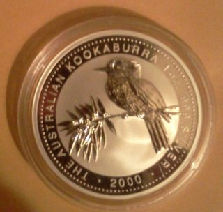 2000 1 Oz Australia Silver Kookaburra photo