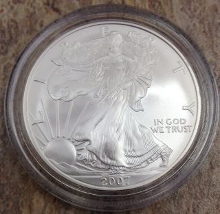 Another 2007 W $1 American Silver Eagle