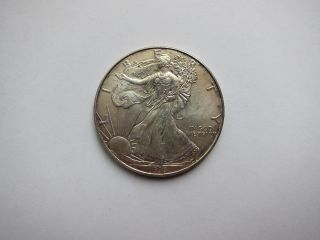 1996 Silver Eagle,  One Dollar. .  Rare Date. .  Gem Unc. .  Nr. . photo