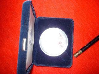 1999 - P 1 Oz Proof Silver American Eagle Coin - Box photo