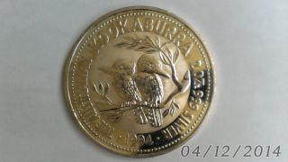 1994 2oz.  Australian Kookaburra Fine.  999 Silver photo