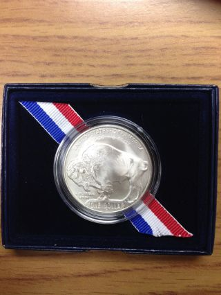 2001 Silver American Buffalo Us Commemorative photo