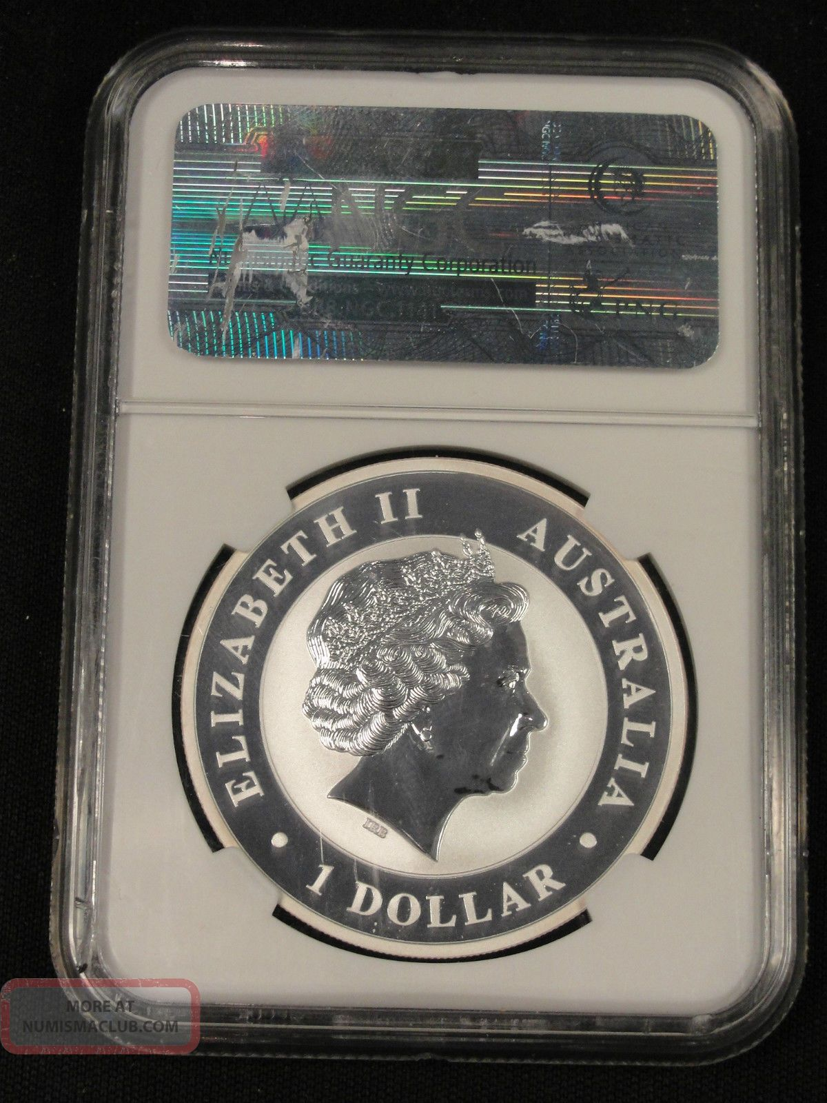 2011 Australia 1 Dollar Silver Koala Ngc Ms69 5 170
