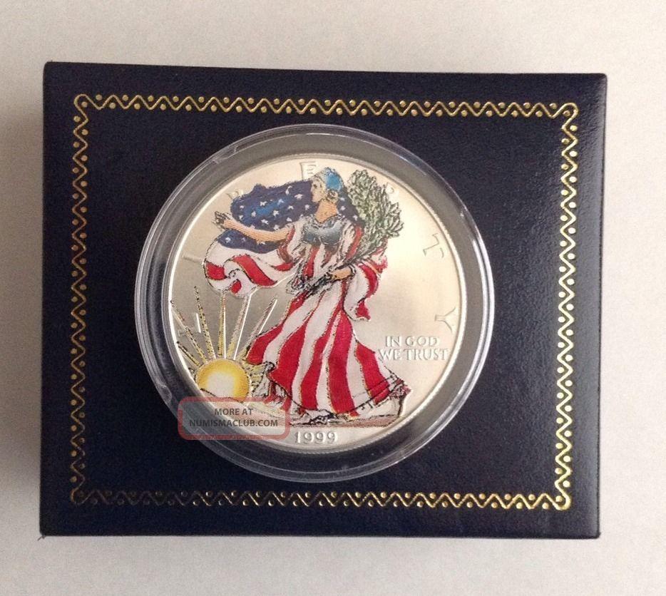 1 Oz Silver American Eagle Value