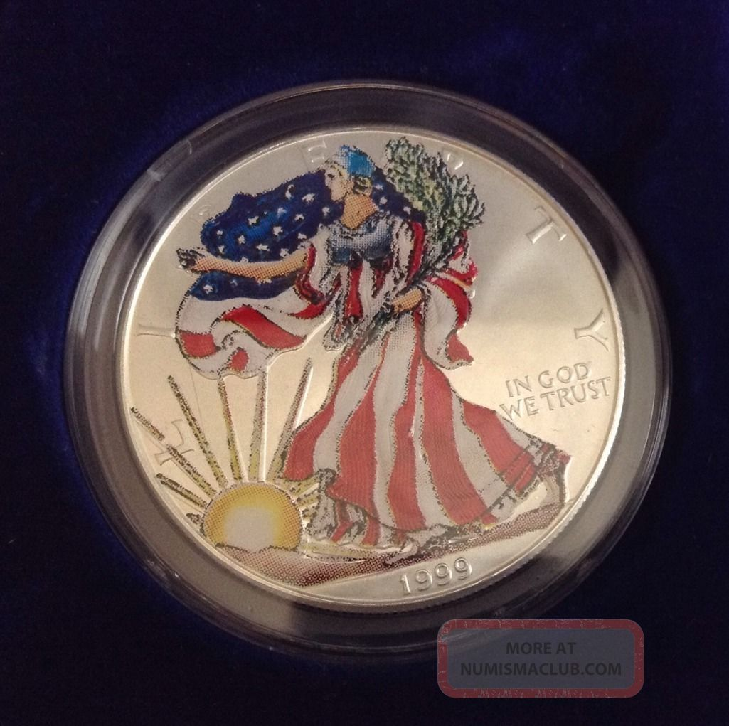 American Eagle 1999 Silver Dollar Liberty