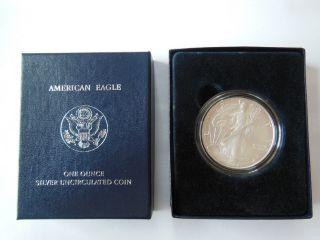 United States Silver Dollar,  2007 Bullion photo